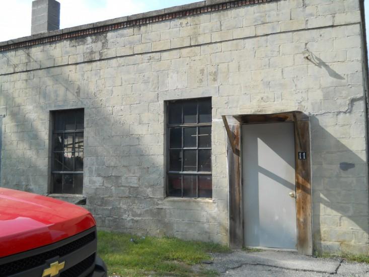 Exterior of Highway Garage