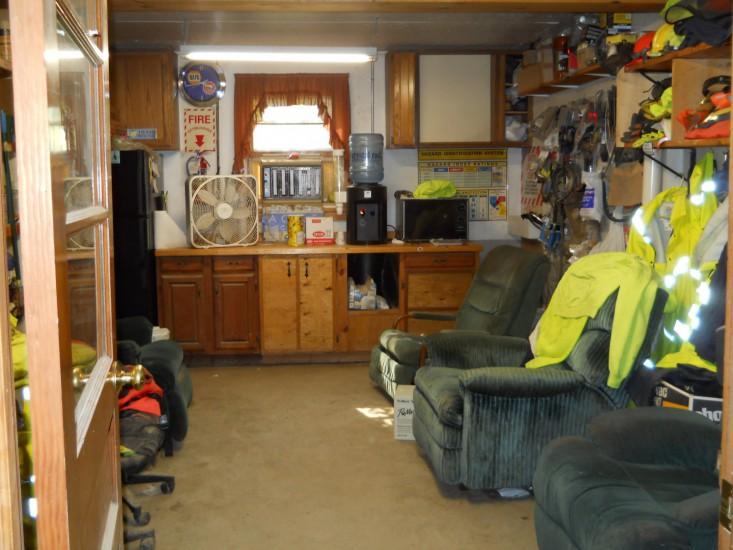 Highway Garage Breakroom